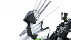 Kawasaki Ninja 1000SX 2020: cupolino regolabile manualmente su 4 posizioni