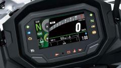 Kawasaki Ninja 1000SX 2020: il cruscotto con display LCD a colori