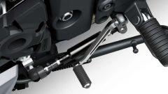 Kawasaki Ninja 1000SX 2020: il pedale del cambio eletroattuato