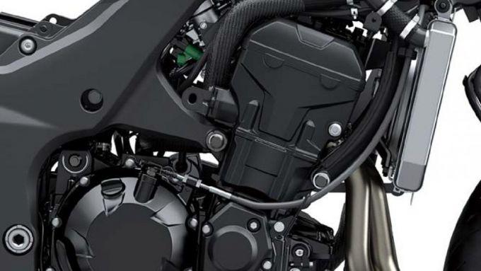 Kawasaki Ninja 1000SX 2020: il quattro cilindri in linea di 1.043 cc