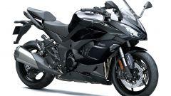 Kawasaki Ninja 1000SX m.y. 2021 nella colorazione tutta nera