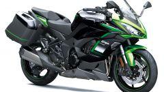 Kawasaki Ninja 1000SX m.y. 2021 nella colorazione verde e nera