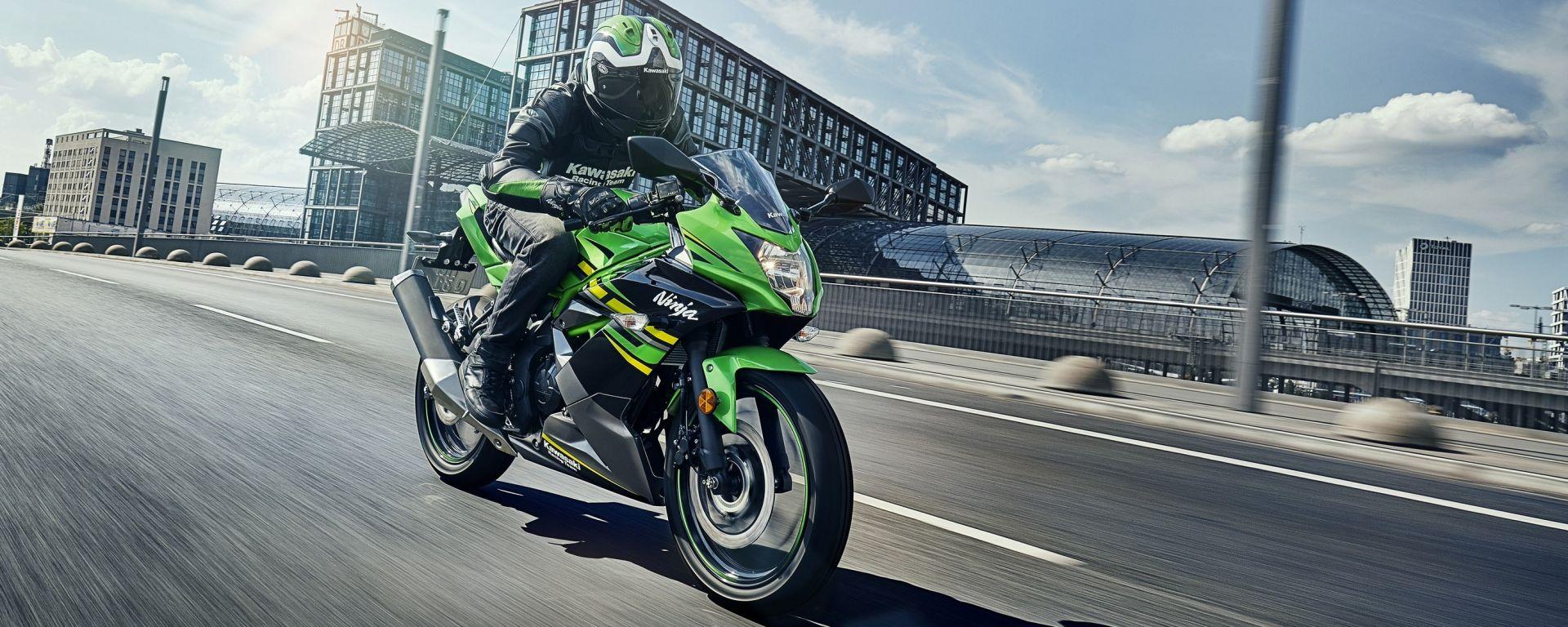 Kawasaki Ninja 125, a EICMA 2018 per studiare da grandi