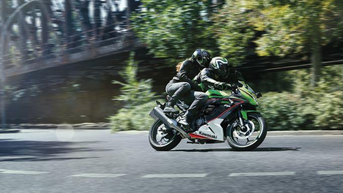 Kawasaki Ninja 125: il modello 2021 per patenti A e B