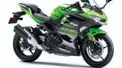 Kawasaki Ninja 400, bellissima la livrea del team KRT Campione del Mondo SBK