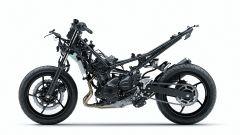 Kawasaki Ninja 400: il nuovo telaio in tubi