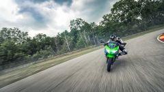Kawasaki Ninja 400: inediti il motore, il telaio e le sospensioni