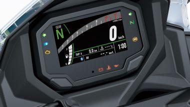 Kawasaki Ninja 650 2020: la nuova strumentazione digitale