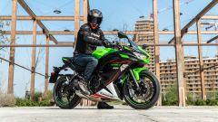 Kawasaki Ninja 650 2021: sportiva per tutti. La prova - Immagine: 25