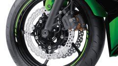 Kawasaki Ninja 650, dischi freno a margherita