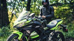 Kawasaki Ninja 650, il look deriva dalla ZX-10 R