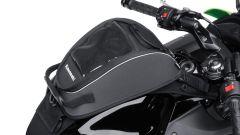 Kawasaki Ninja 650, la borsa sul serbatoio
