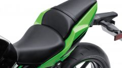 Kawasaki Ninja 650, la sella è a soli 79 cm