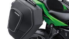 Kawasaki Ninja 650, le borse laterali
