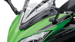 Kawasaki Ninja 650, parabrezza regolabile
