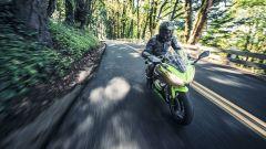 Kawasaki Ninja 650, promette oltre 23 km con un litro