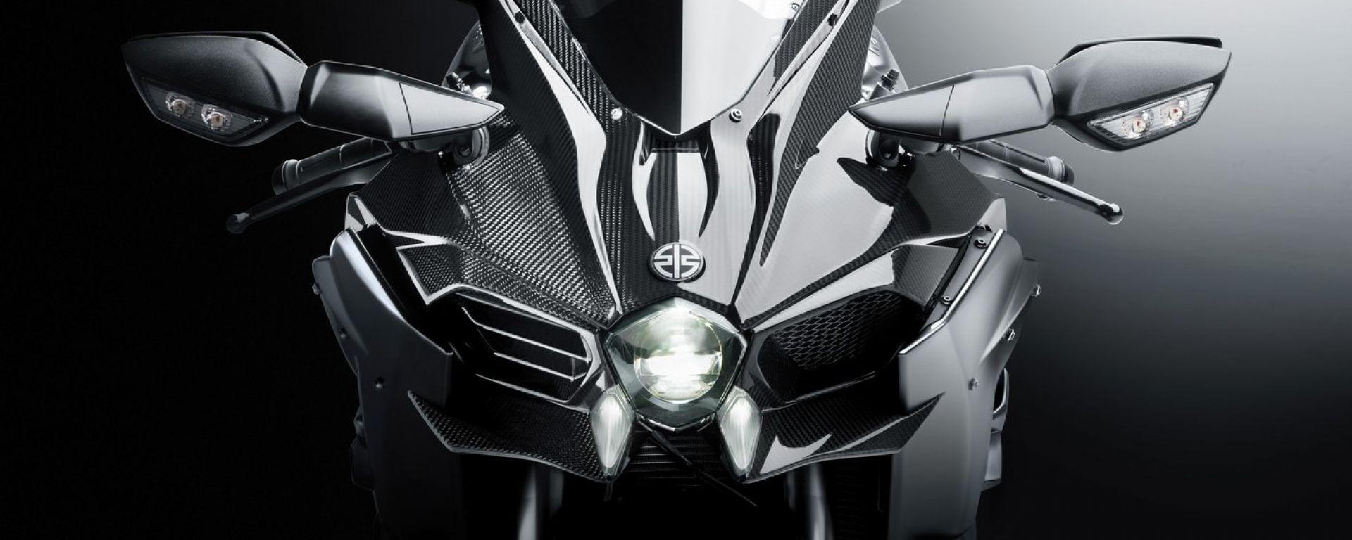 Kawasaki Ninja H2 Carbon: così è ancora più cattiva (e rara)