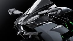 Kawasaki Ninja H2 Carbon ha il cupolino in fibra di carbonio