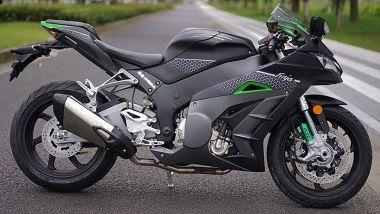 Kawasaki Ninja? No, questa è la Finja 500 e arriva dalla Cina