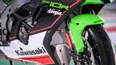 Kawasaki Ninja ZX-10R 2021: il nuovo radiatore dell'olio raffreddato ad aria, soluzione racing