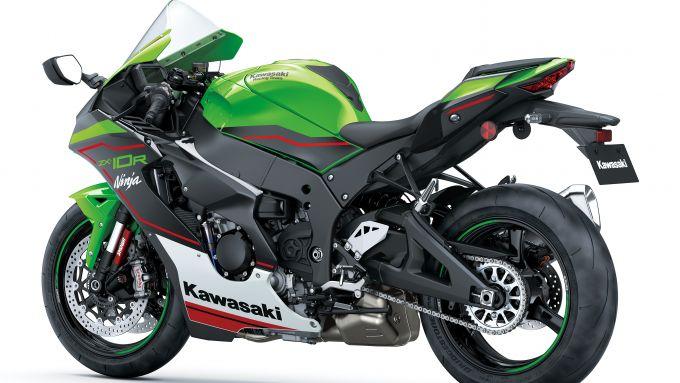Kawasaki Ninja ZX10-R 2021: posteriore