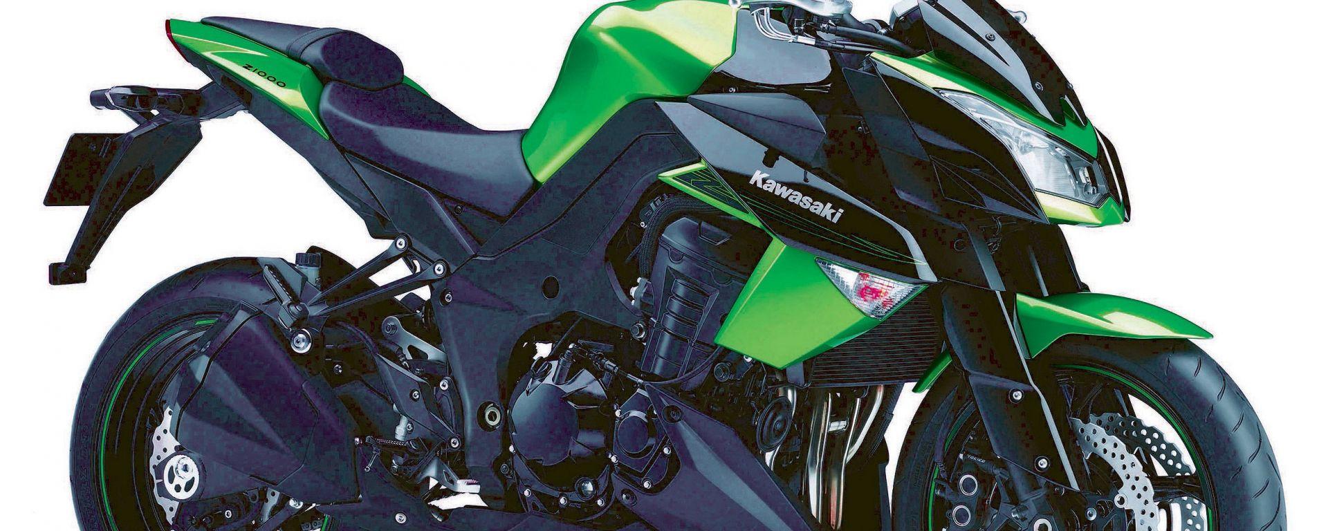 Kawasaki nuovi colori 2011