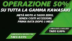 Kawasaki: operazione 50% su tutta la gamma - Immagine: 2