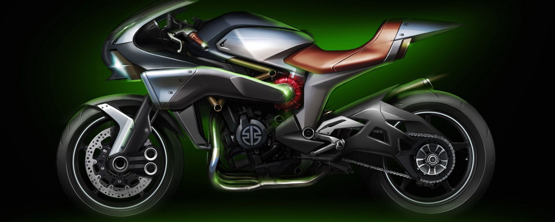 Kawasaki Supercharger e Rideology