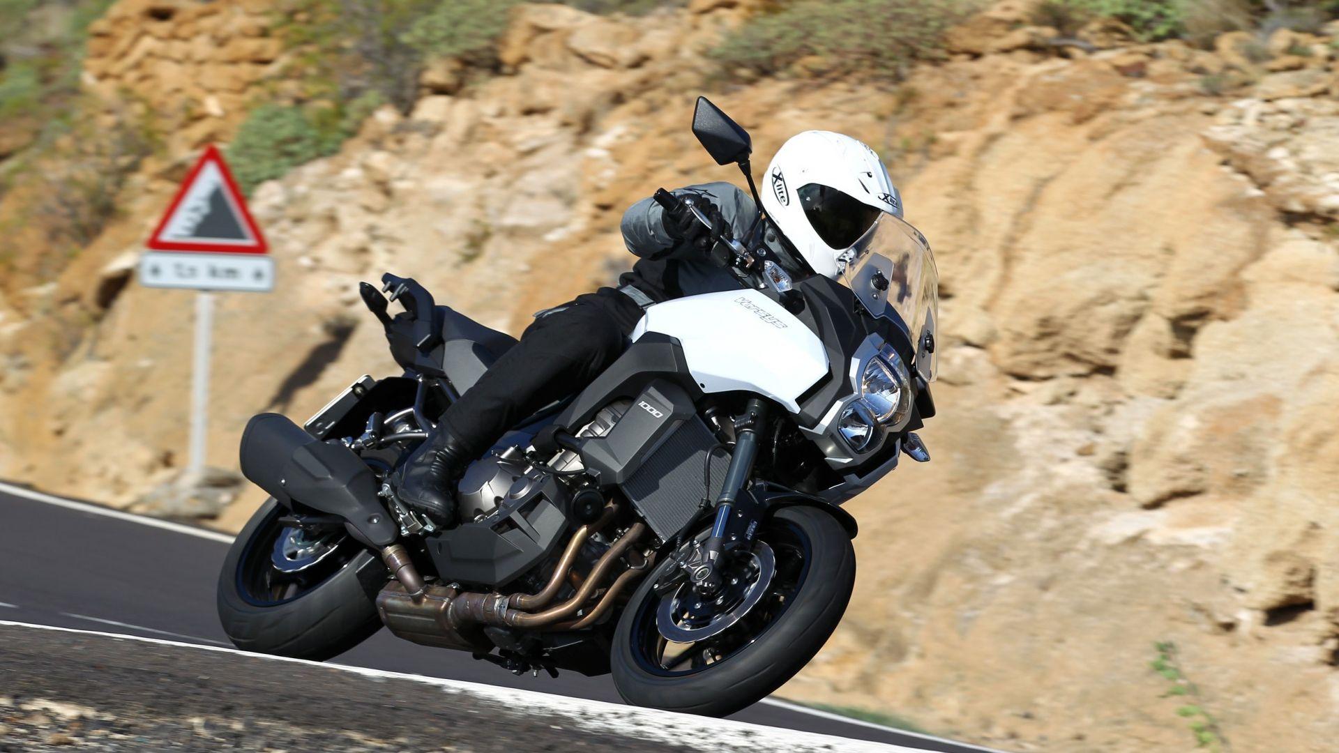 Immagine 5: Kawasaki Versys 1000: ora anche in video