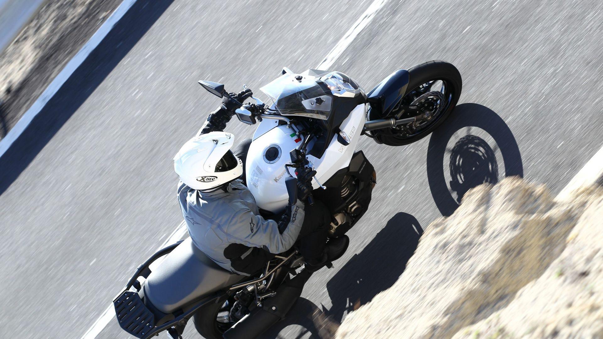 Immagine 6: Kawasaki Versys 1000: ora anche in video