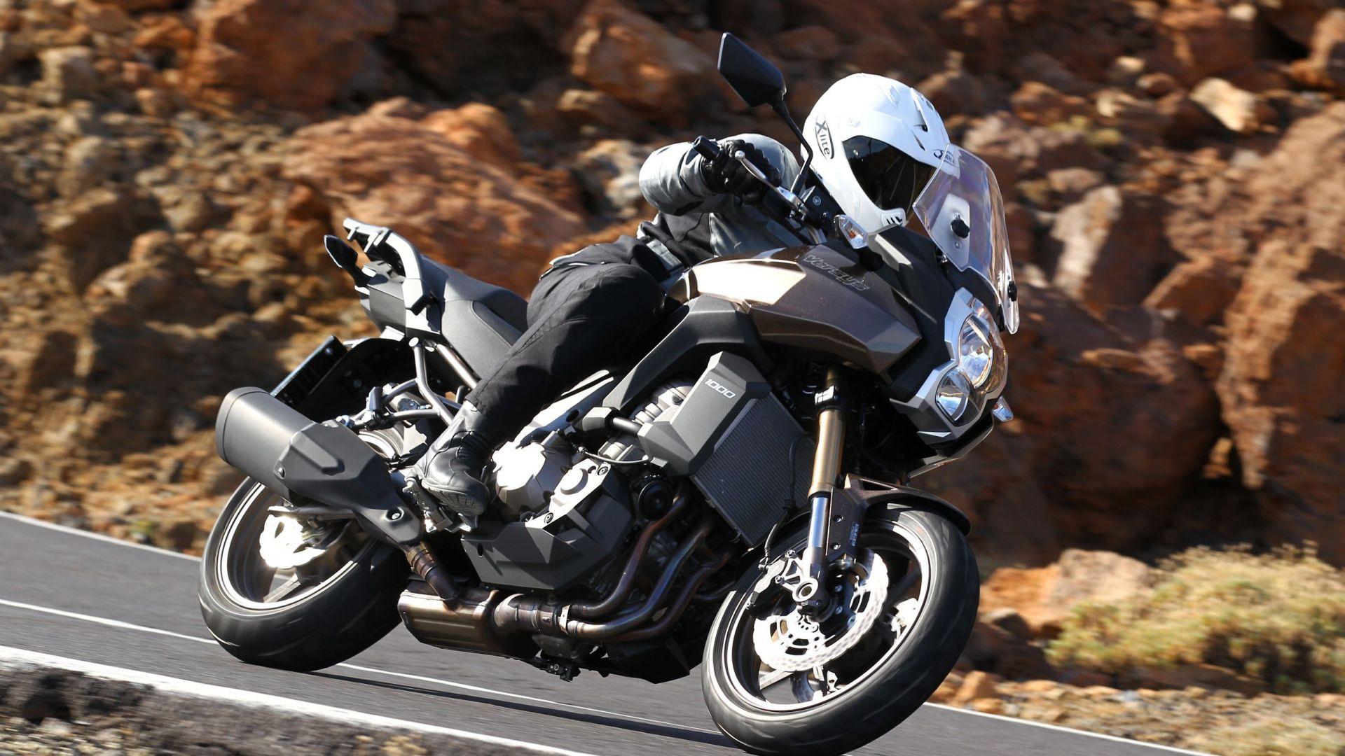 Immagine 1: Kawasaki Versys 1000: ora anche in video