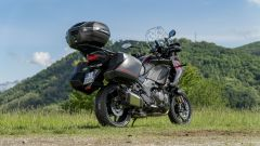 Kawasaki Versys 1000 S Grand Tourer 2021: 3/4 posteriore