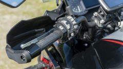 Kawasaki Versys 1000 S Grand Tourer 2021: dal blocchetto sinistro si gestisce tutte le funzioni