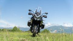 Kawasaki Versys 1000 S Grand Tourer 2021: il frontale