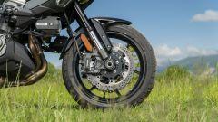 Kawasaki Versys 1000 S Grand Tourer 2021: la parte anteriore