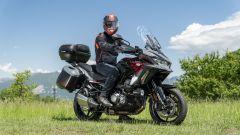 Kawasaki Versys 1000 S Grand Tourer 2021: una posizione in sella davvero comoda