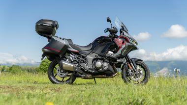 Kawasaki Versys 1000 S Grand Tourer 2021: vista laterale