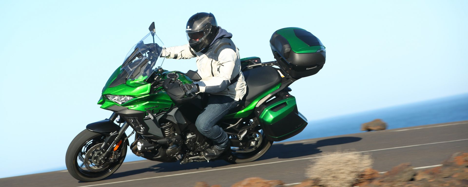 Kawasaki Versys 1000 SE: business class a due ruote! La prova