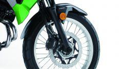 Kawasaki Versys-X 300: l'avantreno