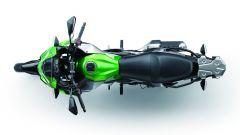Kawasaki Versys-X 300: vista dall'alto