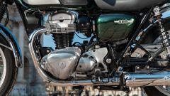 Kawasaki W 800 Classic, dettaglio del motore