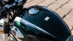 Kawasaki W 800 Classic, dettaglio del serbatoio