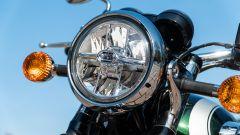 Kawasaki W 800 Classic, il faro full LED