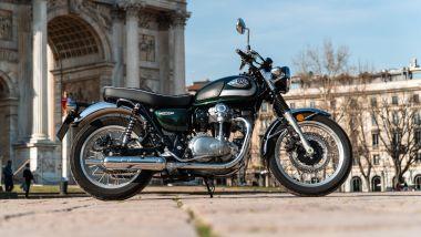 Kawasaki W 800 Classic latereale destro
