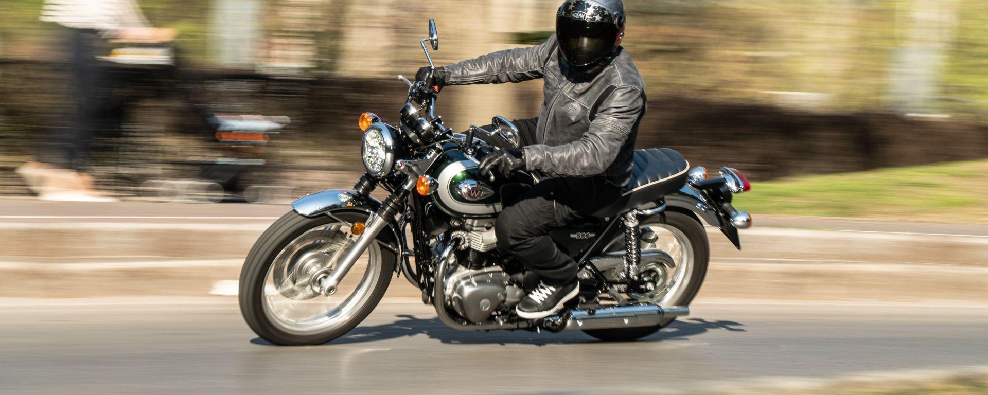 Kawasaki W 800 Classic VIDEO