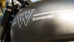 Kawasaki W 800 Street 2019: il serbatoio