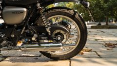 Kawasaki W 800 Street 2019: il vecchio tamburo è sostituito da un freno a disco