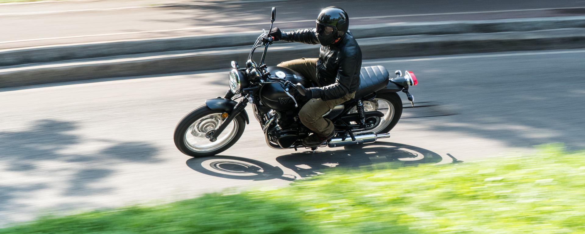 Kawasaki W 800 Street 2019: la prova su strada