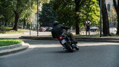 Kawasaki W 800 Street 2019: vista posteriore dinamica