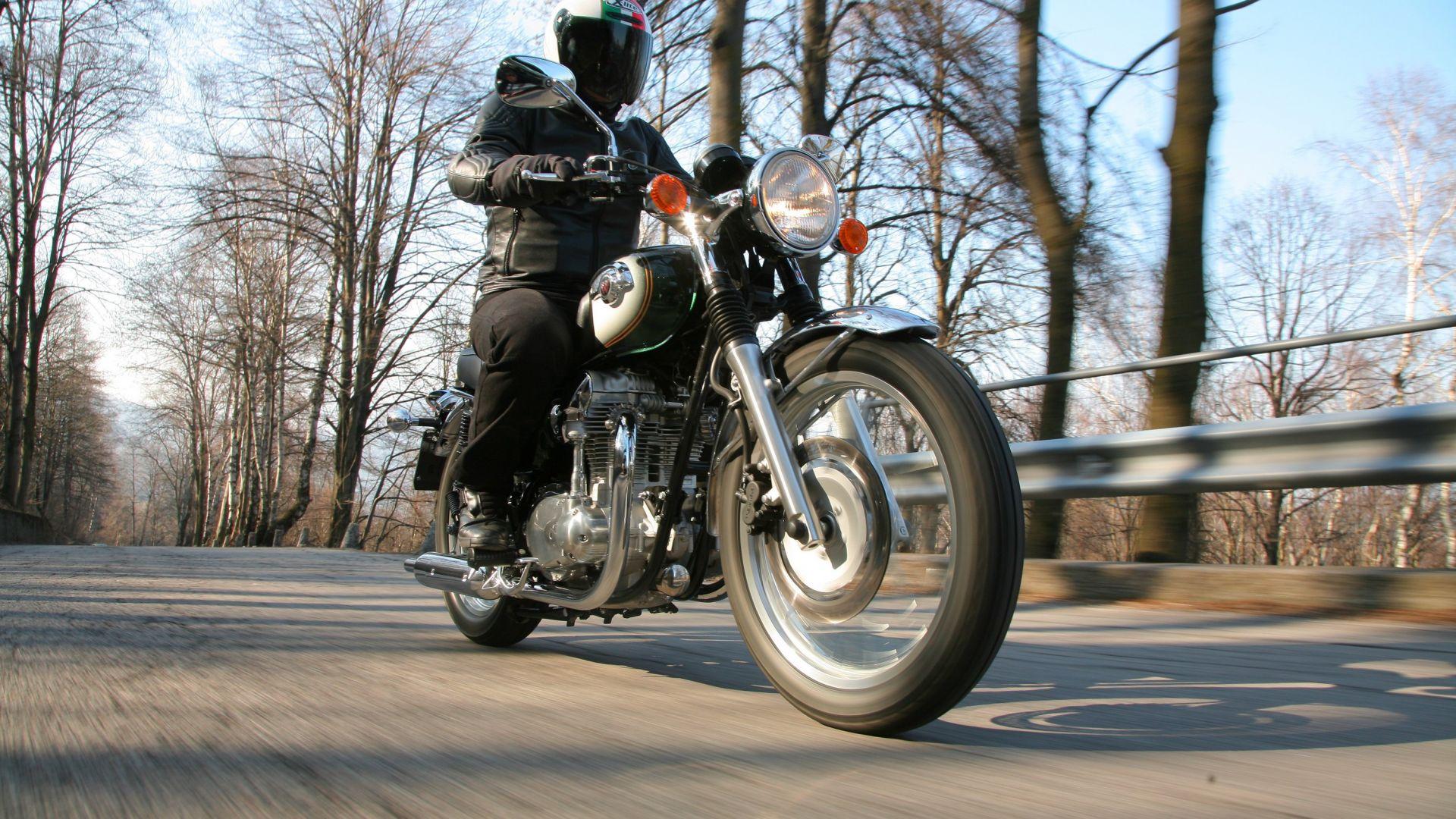 Prova Kawasaki W800 Motorbox